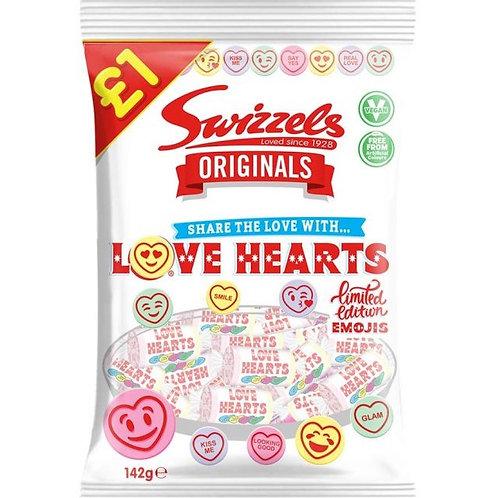 Swizzels Originals Love Hearts Bag - £1