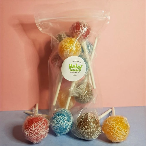 Super Sour Tongue Painter Lollipops Pouch