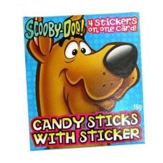 Scooby-Doo Candy Sticks - 3 packs