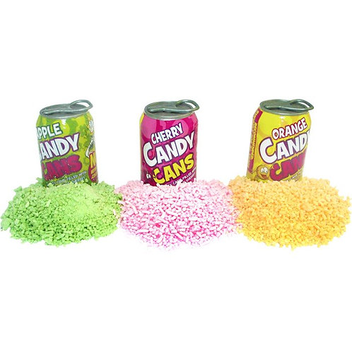 Sherbet Candy Cans