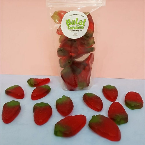 Giant Jelly Strawberries