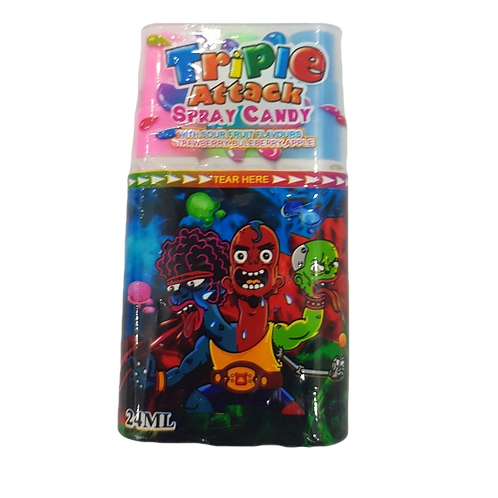 Triple Attack Spray Candy - [24ml]