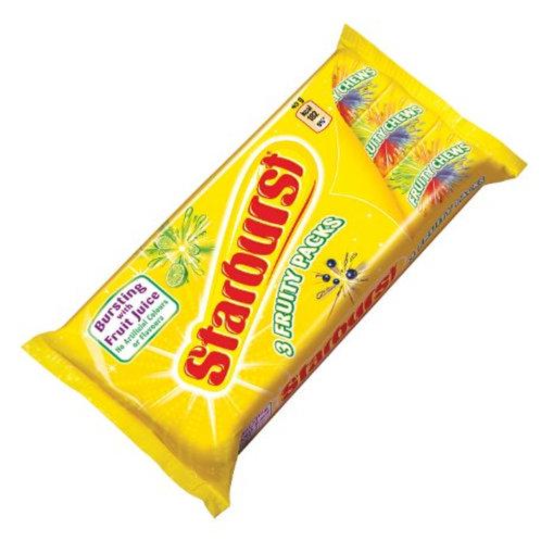 Starburst 3 Fruity Packs