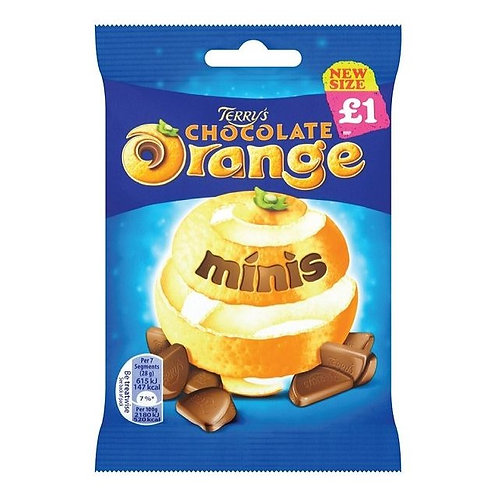 Terry's Chocolate Orange Bites £1