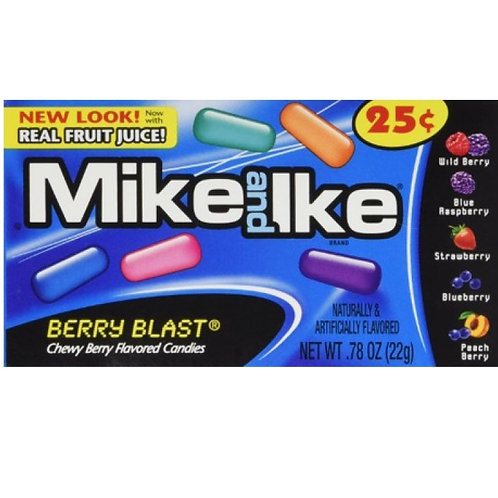 Mike and Ike Berry Blast - 22g