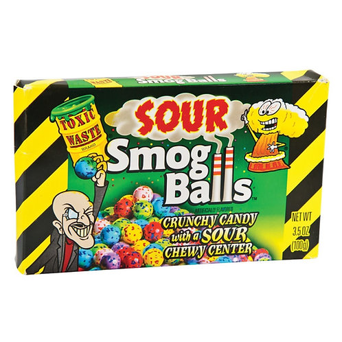Toxic Waste Sour Smog Balls - [100g]