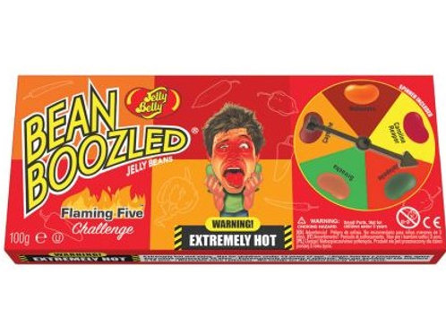 Jelly Belly Beanboozled Flaming Five Spinner Gift Box 100g
