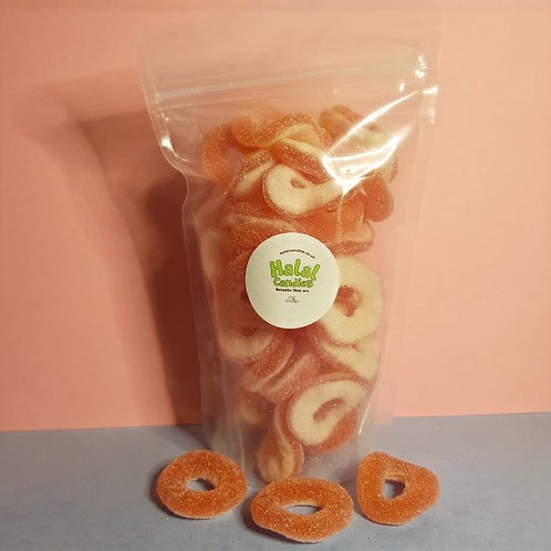 Sour Strawberry Rings Pouch