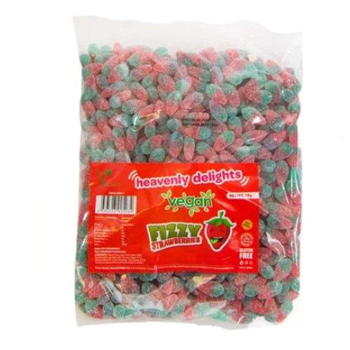 Mini Fizzy Strawberries - Vegan