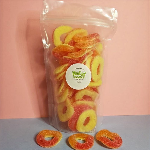 Fizzy Peach Rings Pouch