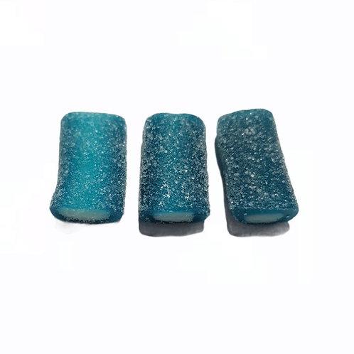 Fizzy Blue Mini Raspberry Pencils