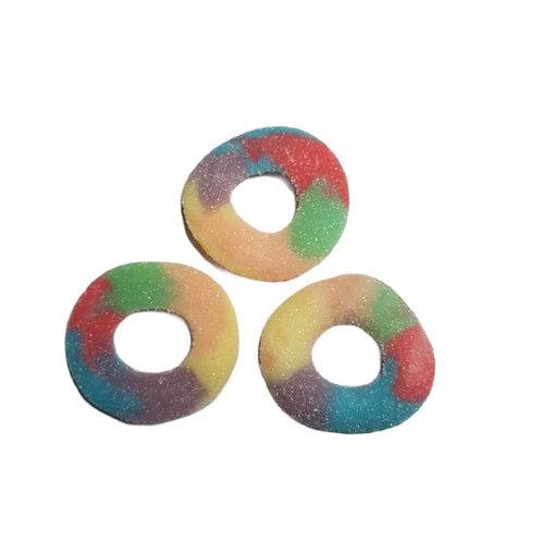 Fizzy Rainbow Rings