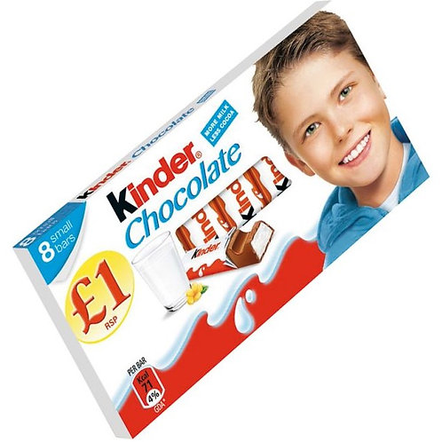 Kinder Chocolate 8 Pack £1