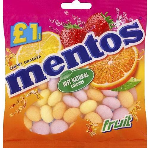 Mentos Fruits £1