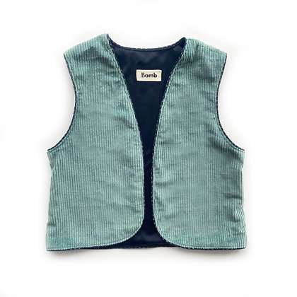 Bomb waistcoat - number 17 SIZE S/M