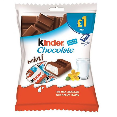 Kinder Chocolate Mini - £1