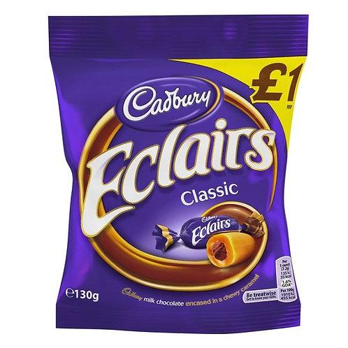 Cadbury Chocolate Eclairs Share Bags £1