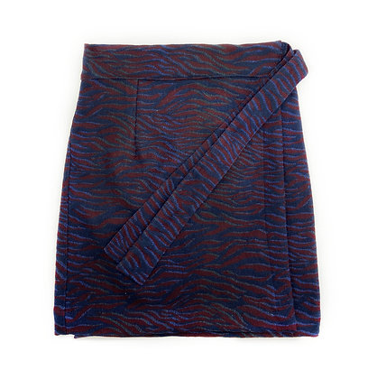 Bomb Wrap Skirt - number 6 SIZE XS/S
