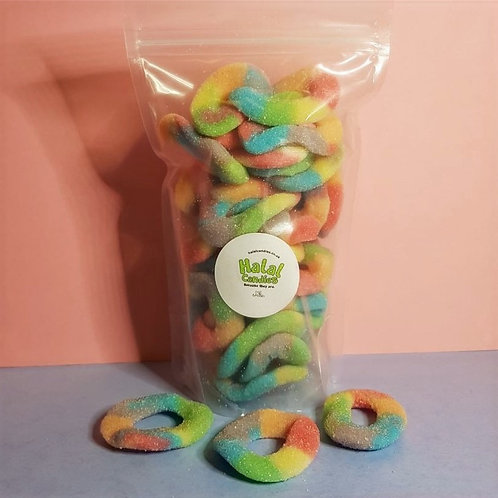Fizzy Rainbow Rings Pouch