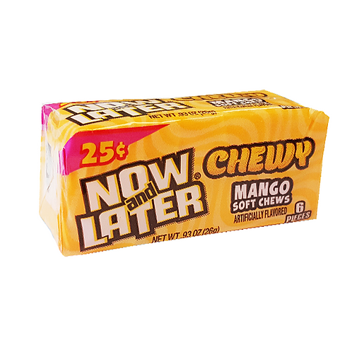 Now And Later Chewy Mango