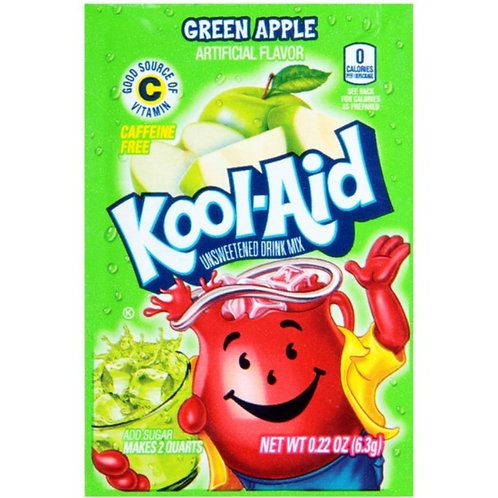 Kool Aid Unsweetened Green Apple