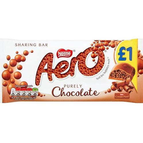 Aero Milk Chocolate Sharing Bar - £1