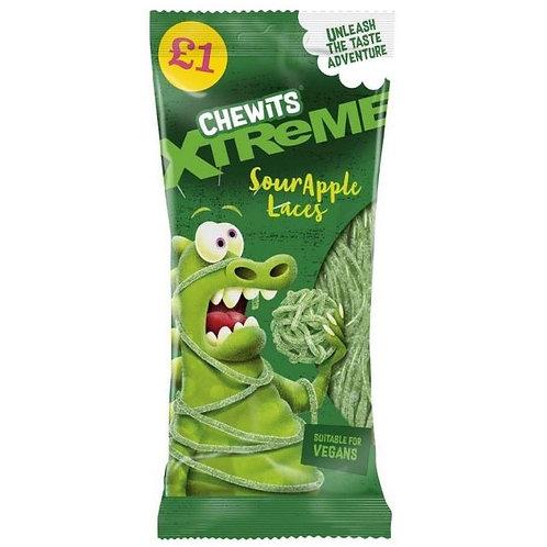Chewits Xtreme Sour Apple Laces £1