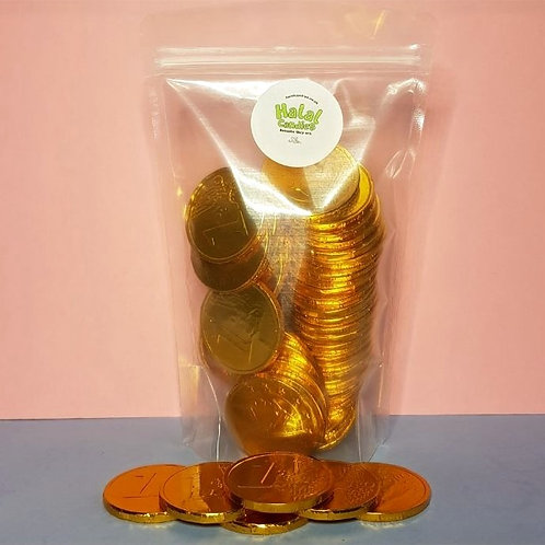 Chocolate Coins Pouch