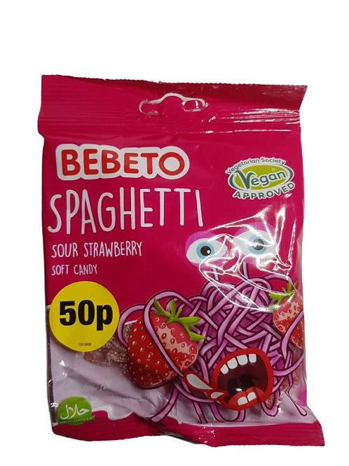 Sour Strawberry Spaghetti