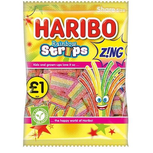 Haribo Rainbow Strips Z!NG - £1