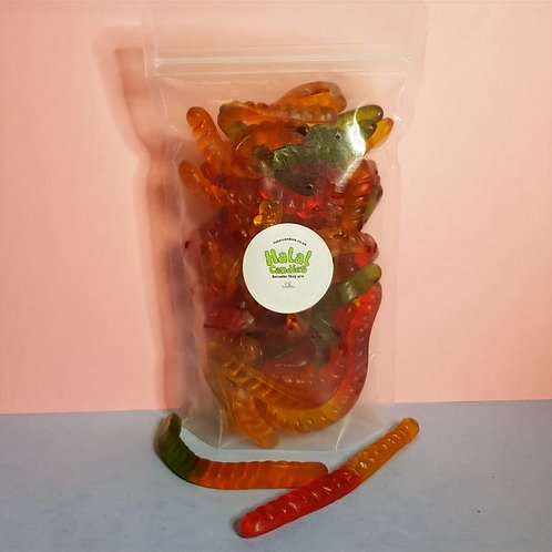Jelly Worms Pouch