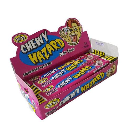 Chewy Hazard - Strawberry Flavour [box of 24]