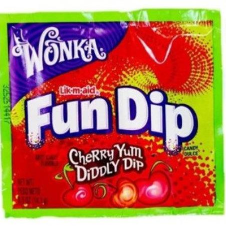 Fun Dip Cherry Yum Diddly Dip- [12.1g]