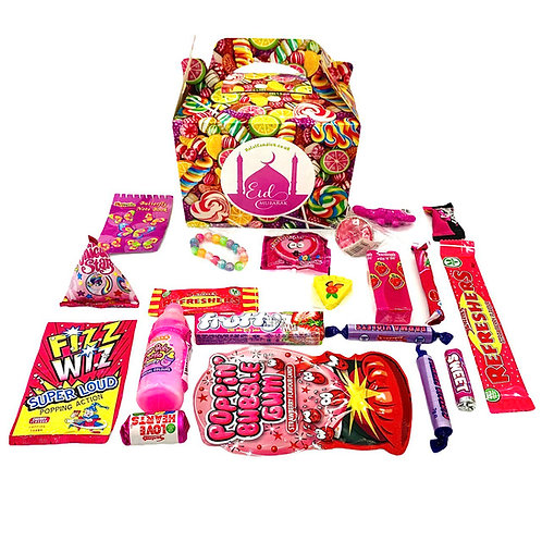 Girls' Sweet and Toy Gift Box