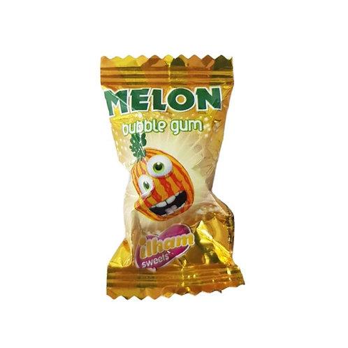 Melon Bubble Gum - 10 pieces