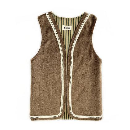 Bomb waistcoat long - number 13 SIZE S/M