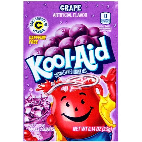 Kool Aid Unsweetened Grape