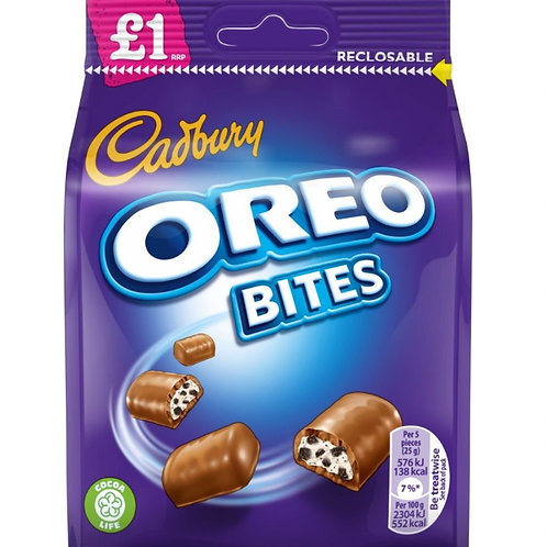 Cadbury Dairy Milk Oreo Bites Pouch £1