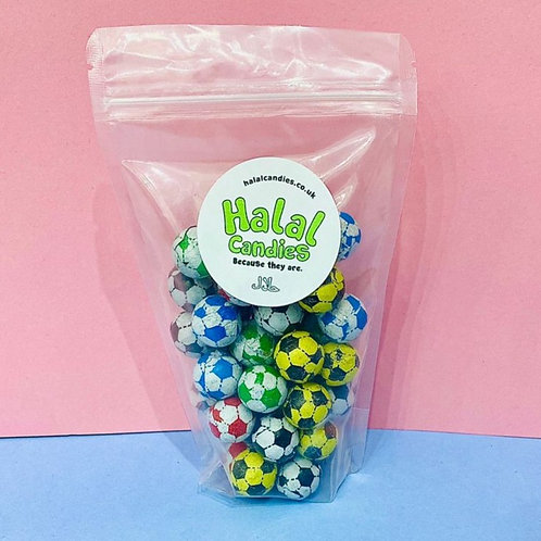 Chocolate Sports Balls Pouch