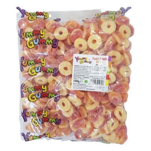 Fizzy Peach Rings - [1kg]