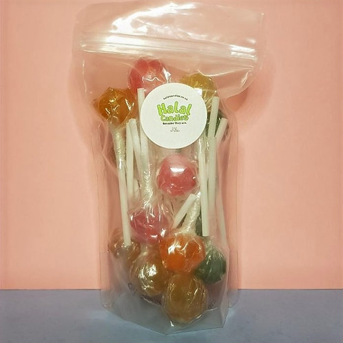 Fruit Lollipops Pouch