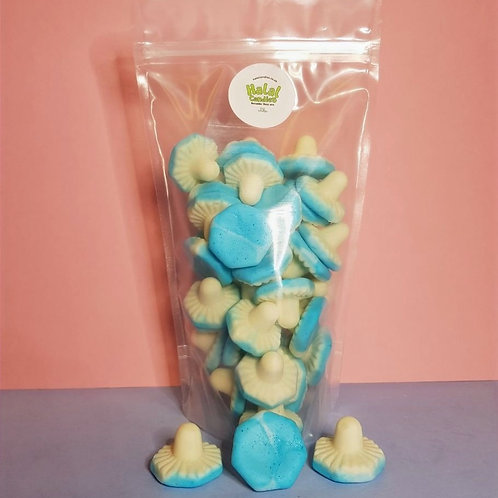 Giant Blue Raspberry Mushrooms Pouch
