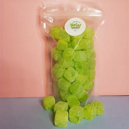 Sour Apple Cubes Pouch