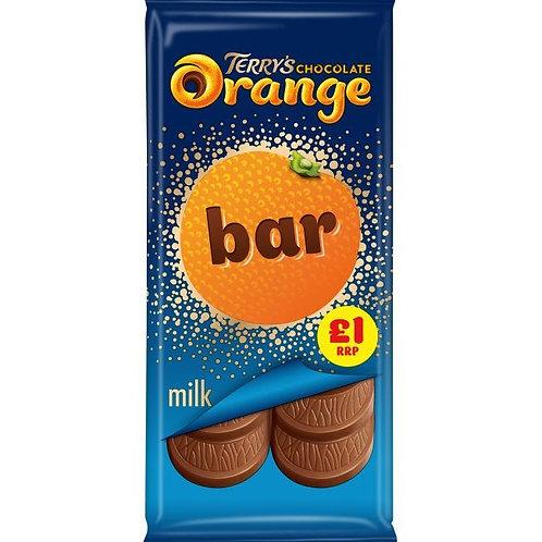 Terry's Chocolate Orange Sharing Bar £1