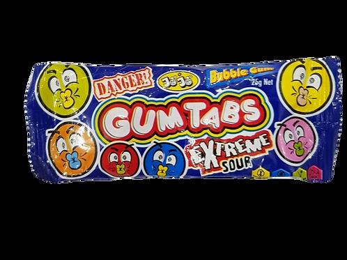 Gum Tabs Bubble Gum - [25g]