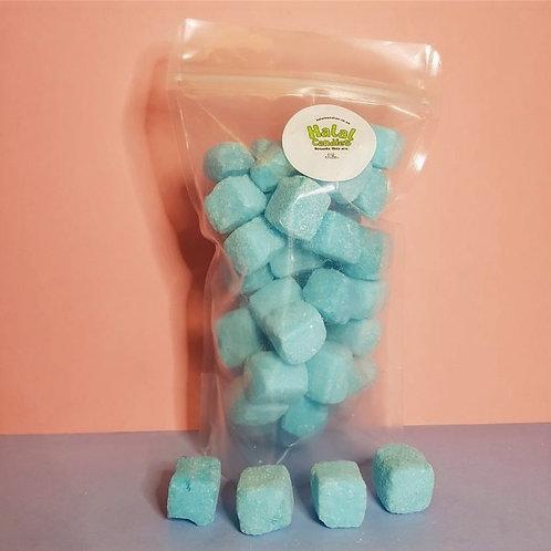 Blue Raspberry Cubes Pouch