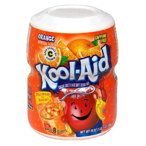 Kool Aid Orange - [8 quarts]