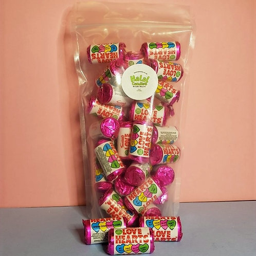Love Hearts Rolls Pouch