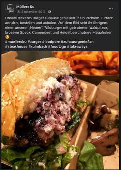 Burger vom Wild geht nicht? Lassen Sie sich vom Gegenteil überzeugen!