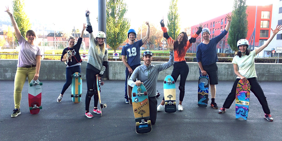 Surfskate Sessions: Skill Training and Competition (2. Gruppe)